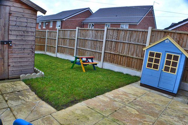 Rear Garden of Edward Phipps Way, Haslington CW1