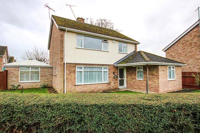 Thumbnail Detached house for sale in Cheveley Road, Newmarket