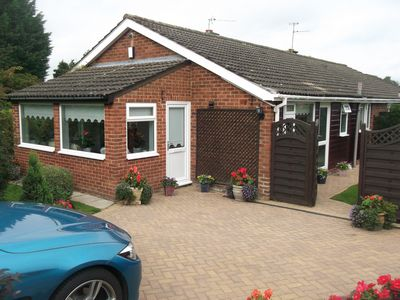 Thumbnail Semi-detached bungalow for sale in Ainderby Road, Romanby, Northallerton