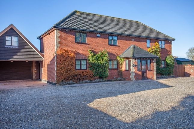 Thumbnail Detached house for sale in Foundry Corner, Attleborough