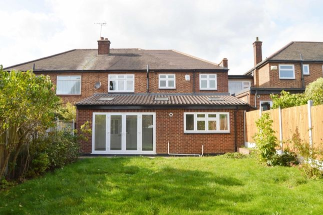 Thumbnail Semi-detached house to rent in Lodge Avenue, Gidea Park, Romford