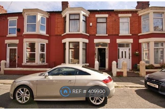 Thumbnail Terraced house to rent in Willowdale Road, Mossley Hill, Liverpool