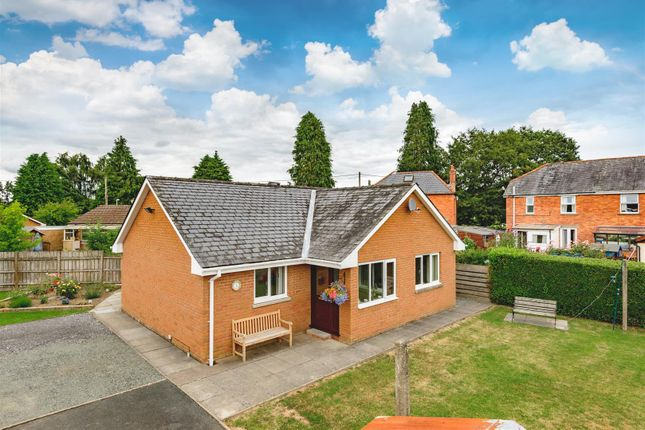 Thumbnail Detached bungalow for sale in Irfon Road, Builth Wells