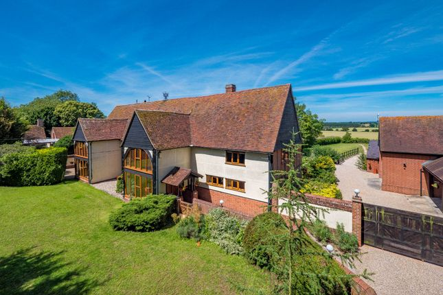 Thumbnail Barn conversion for sale in Bulmer, Sudbury, Suffolk