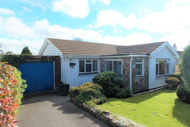 Thumbnail Detached bungalow for sale in High View, Blackwater, Truro