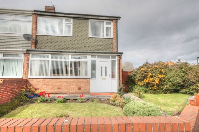 Thumbnail Semi-detached house to rent in Mapperley Drive, Dumpling Hall, Newcastle Upon Tyne