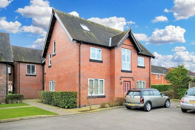 Thumbnail Flat for sale in Manor Farm Drive, Tittensor, Stoke-On-Trent