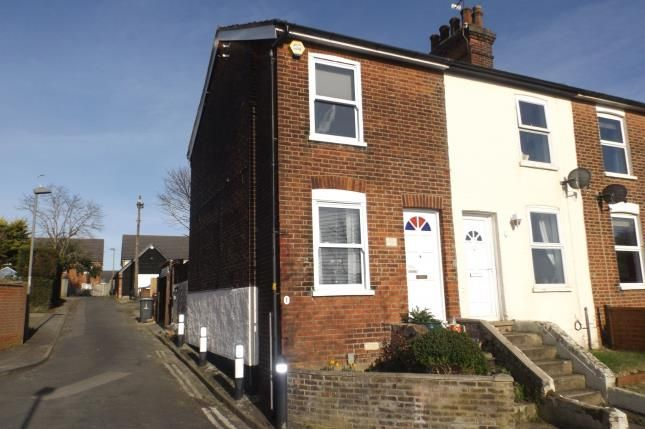 Thumbnail End terrace house for sale in Ipswich, Suffolk