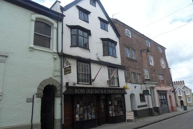 Thumbnail Flat to rent in High Street, Ross-On-Wye