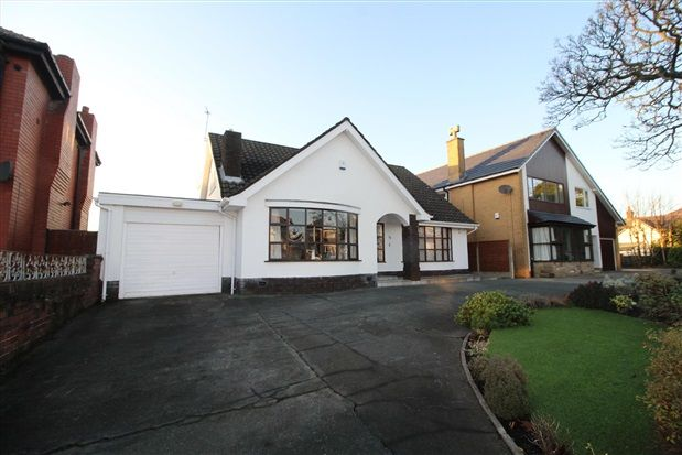 Thumbnail Bungalow for sale in South Park Drive, Blackpool
