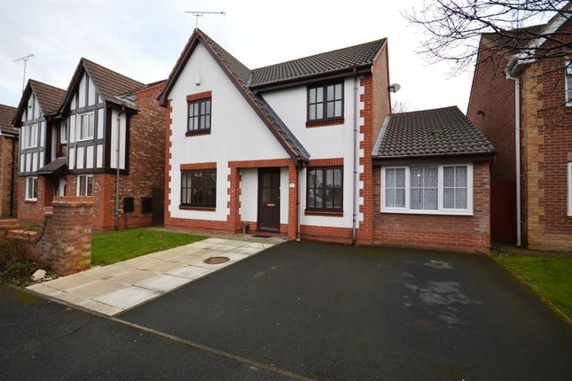 Thumbnail Detached house for sale in The Riddings, Whitby, Ellesmere Port