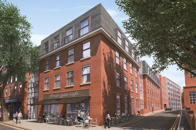 Thumbnail Flat for sale in Norman House, Friar Gate, Derby