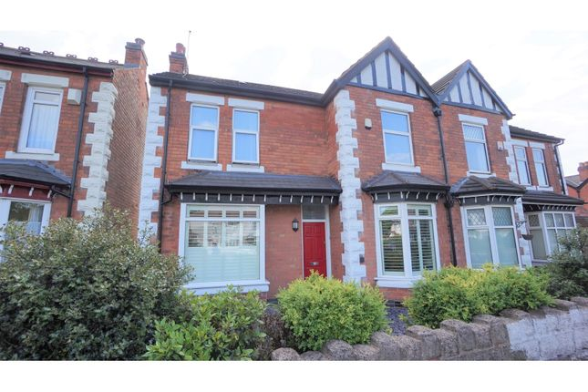 Thumbnail Semi-detached house for sale in Chester Road, Sutton Coldfield