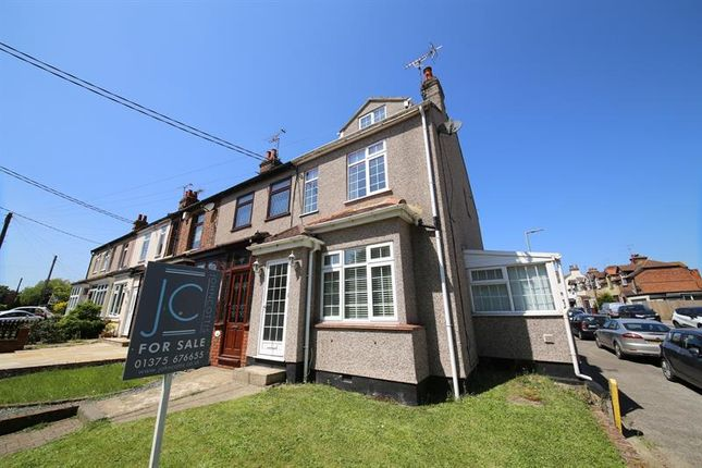 Thumbnail End terrace house for sale in Fobbing Road, Corringham, Stanford-Le-Hope