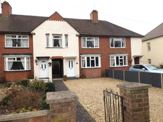 Thumbnail Terraced house for sale in Welland Park Road, Market Harborough, Leicestershire