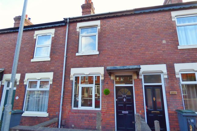 Thumbnail Terraced house to rent in London Road, Penkhull, Stoke-On-Trent