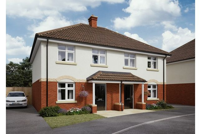 Thumbnail Semi-detached house for sale in Plot 66, The Park, Signal Way, Chippenham, Wiltshire