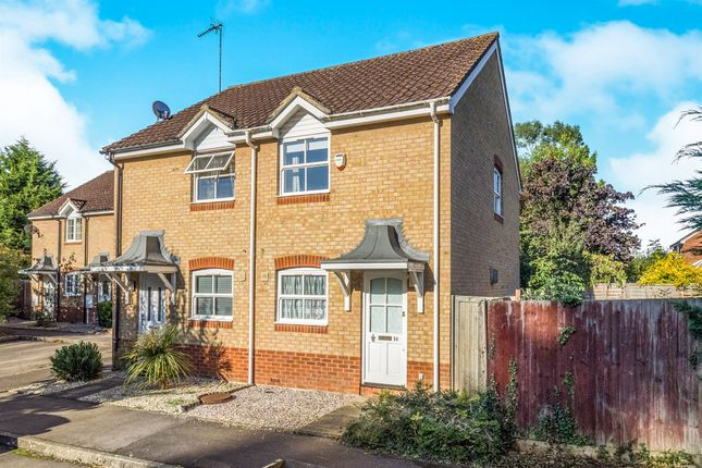 Thumbnail Semi-detached house for sale in Birdhaven Close, Lighthorne, Warwick