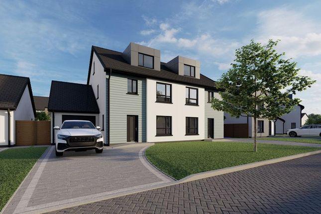 Thumbnail Semi-detached house for sale in Plot 61, The Meadows, Douglas Road, Castletown