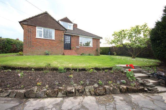 Thumbnail Detached bungalow to rent in Ewshot Lane, Ewshot, Farnham