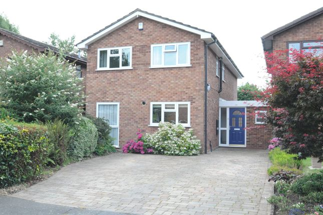 Thumbnail Link-detached house for sale in Fabricius Avenue, Droitwich, Worcestershire