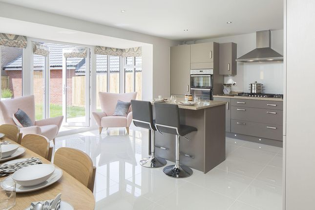 "Thumbnail Detached house for sale in ""Bayswater"" at Walnut Close, Keynsham, Bristol"