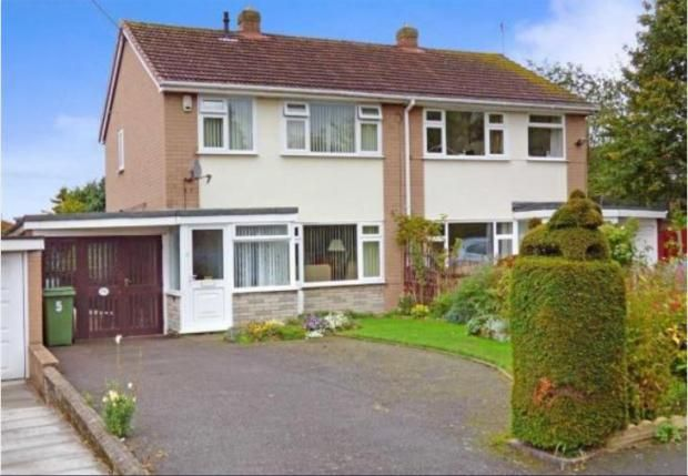 Thumbnail Semi-detached house to rent in Argyll Crescent, Muxton