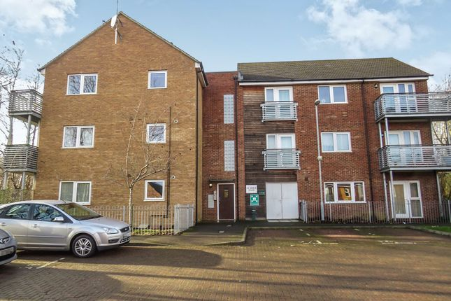 Thumbnail Flat for sale in Jerome Court, Northampton