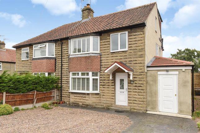 Thumbnail Semi-detached house for sale in Stockdale Close, Knaresborough