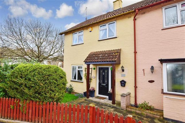 Thumbnail End terrace house for sale in Redgrave Road, Basildon, Essex