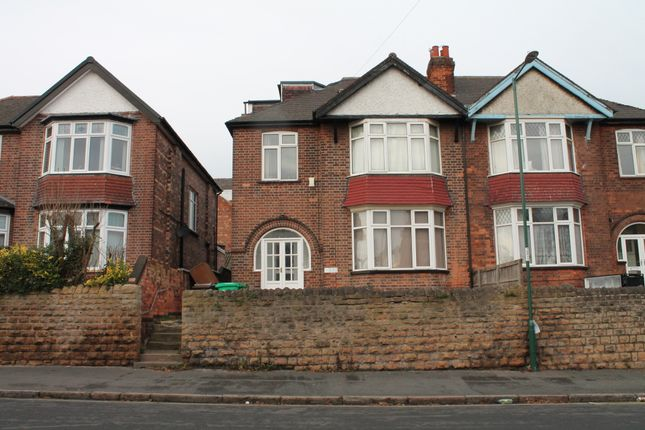 Thumbnail Semi-detached house to rent in Park Road, Lenton, Nottingham