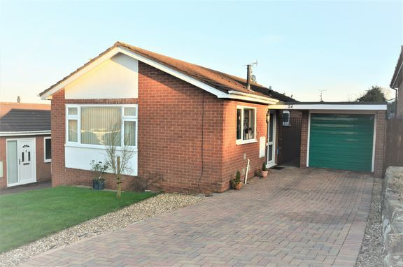 Thumbnail Detached bungalow for sale in Peard Road, Tiverton