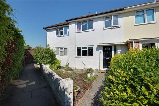 Thumbnail End terrace house for sale in Chesterfield Road, Goring By Sea, West Sussex