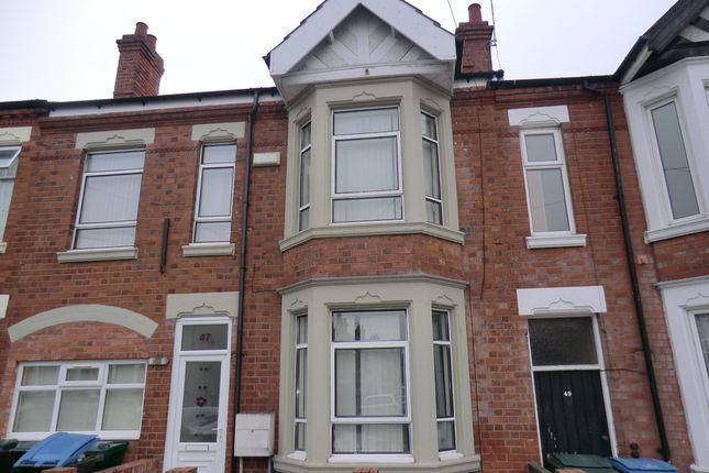 Thumbnail Terraced house to rent in Marlborough Road, Stoke, Coventry