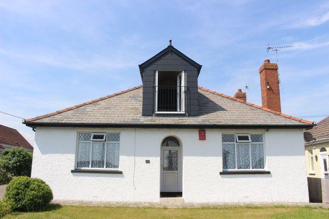 Thumbnail Detached bungalow for sale in Fontygary Road, Rhoose, Barry