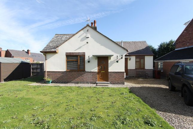 Thumbnail Detached bungalow for sale in Florence Road, Clay Cross, Chesterfield