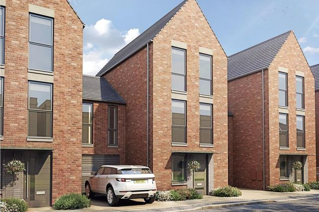 "Thumbnail Terraced house for sale in ""Heim"" at Hauxton Road, Trumpington, Cambridge"