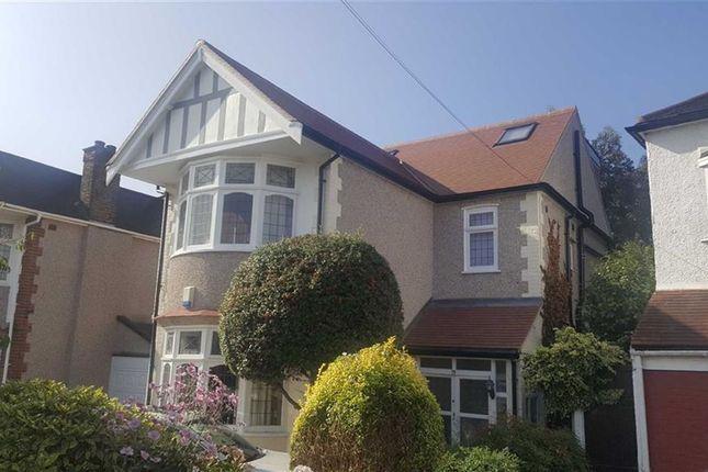 Thumbnail Link-detached house for sale in Rosedene Gardens, Gants Hill, Essex