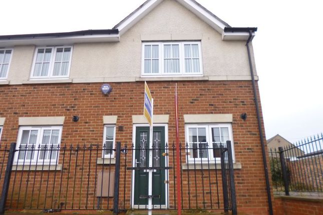Thumbnail End terrace house for sale in Coundon, Bishop Auckland