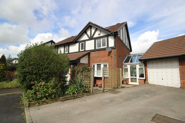 Thumbnail Semi-detached house for sale in Hopefold Drive, Walkden, Manchester