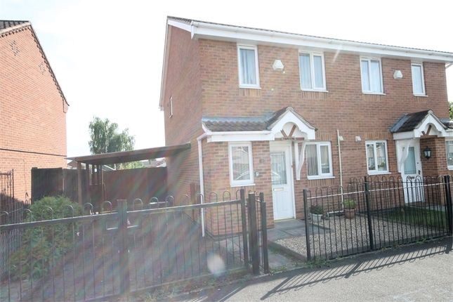 Thumbnail Semi-detached house to rent in Wentworth Corner, Newark, Nottinghamshire.