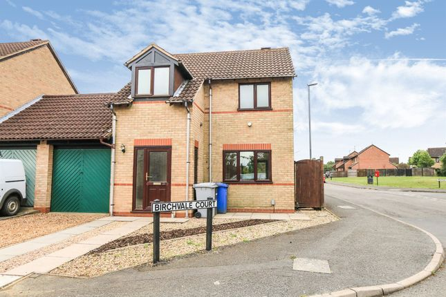 Thumbnail Link-detached house for sale in Birchvale Court, Desborough, Kettering