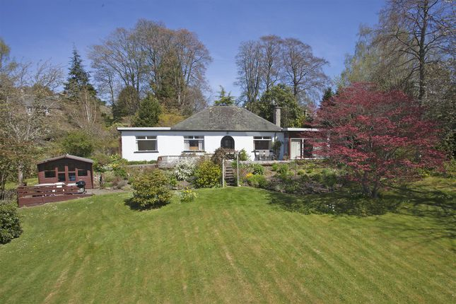 Thumbnail Detached bungalow for sale in Carncroft, Kinnaird, Pitlochry