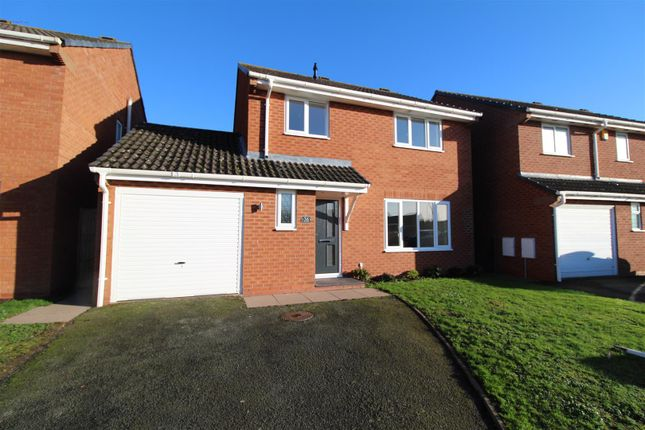 Thumbnail Detached house for sale in Barleyfields, Wem, Shropshire