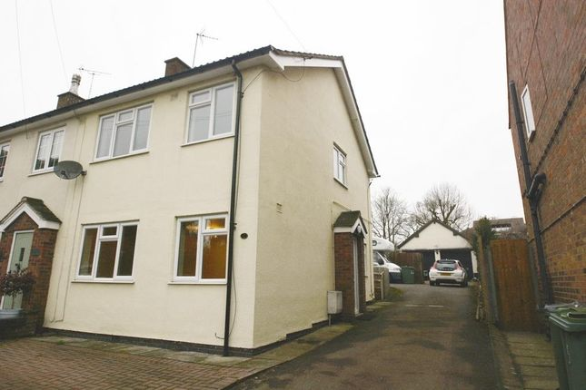 Thumbnail Semi-detached house to rent in Desford Road, Thurlaston, Leicestershire