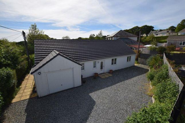 Thumbnail Detached bungalow for sale in Albaston, Gunnislake