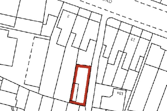Thumbnail Land for sale in 7 Halifax Road, Chase Side, Enfield, Middlesex