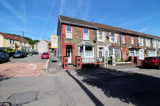 3 bed end terrace house for sale in Woodland Terrace, Maesycoed, Pontypridd CF37