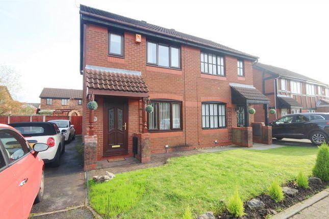 Thumbnail Semi-detached house to rent in Malvern Close, Great Sankey, Warrington