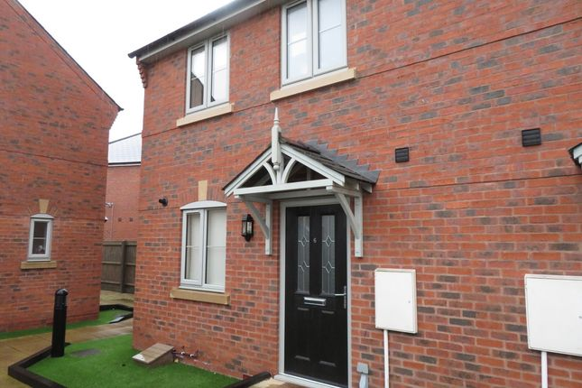 Thumbnail Semi-detached house to rent in Shelton Mews, Coningsby Street, Hereford